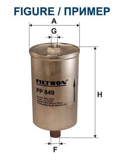 Filtr paliwa PP 828 [PP828] FILTRON