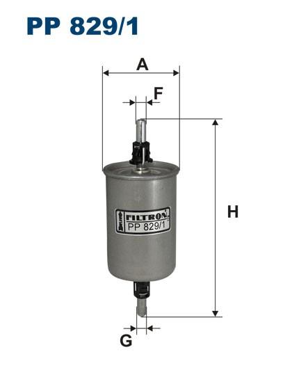 Filtr paliwa PP 829/1 [PP8291] FILTRON