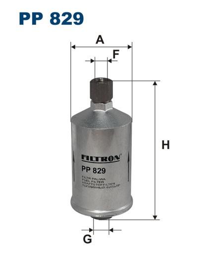 Filtr paliwa PP 829 [PP829] FILTRON