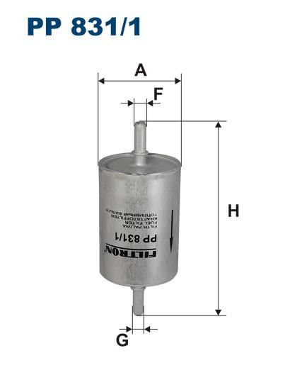 Filtr paliwa PP 831/1 [PP8311] FILTRON