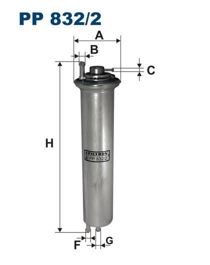 Filtr paliwa PP 832/2 [PP8322] FILTRON