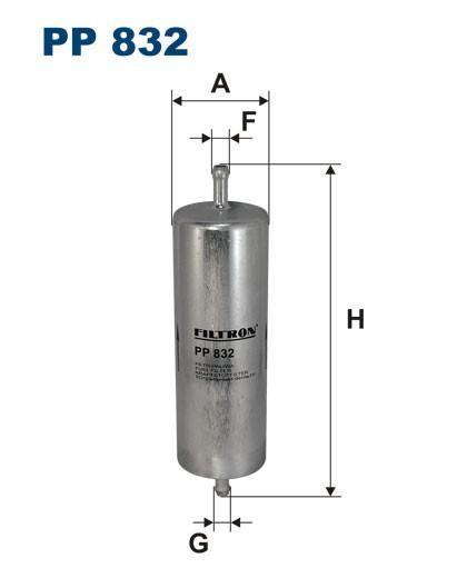 Filtr paliwa PP 832 [PP832] FILTRON