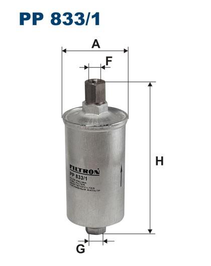Filtr paliwa PP 833/1 [PP8331] FILTRON