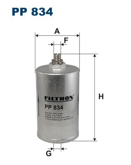 Filtr paliwa PP 834 [PP834] FILTRON