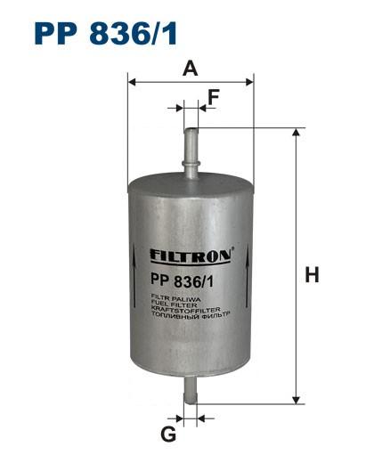 Filtr paliwa PP 836/1 [PP8361] FILTRON