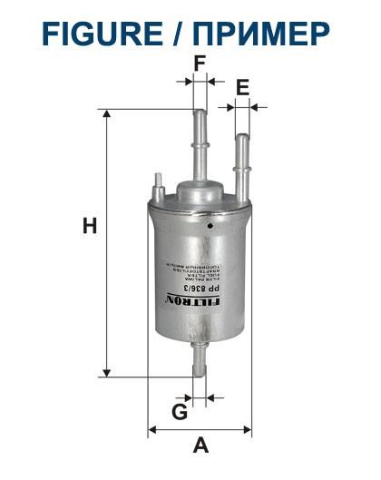 Filtr paliwa PP 836/5 [PP8365] FILTRON