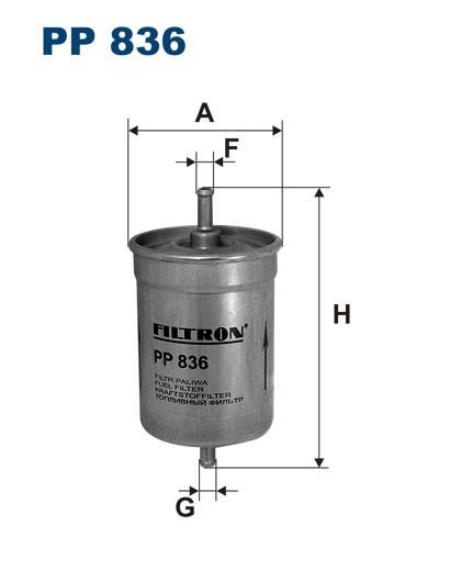Filtr paliwa PP 836 [PP836] FILTRON