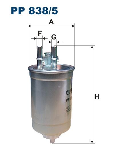 Filtr paliwa PP 838/5 [PP8385] FILTRON