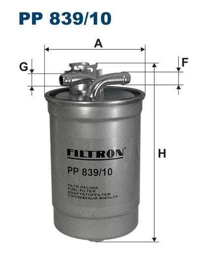 Filtr paliwa PP 839/10 [PP83910] FILTRON