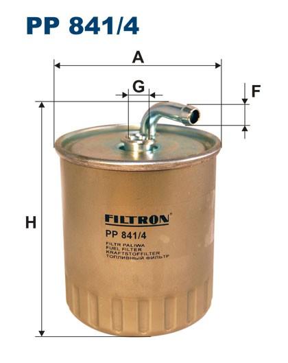 Filtr paliwa PP 841/4 [PP8414] FILTRON