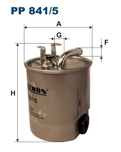 Filtr paliwa PP 841/5 [PP8415] FILTRON