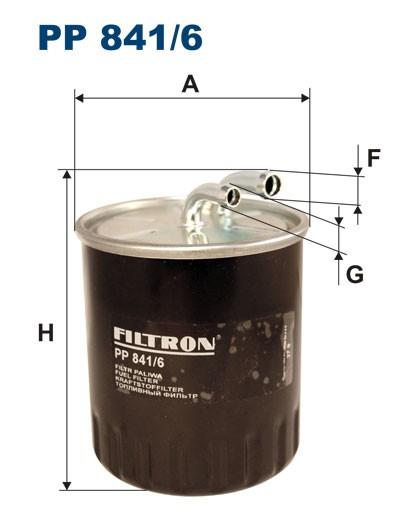 Filtr paliwa PP 841/6 [PP8416] FILTRON