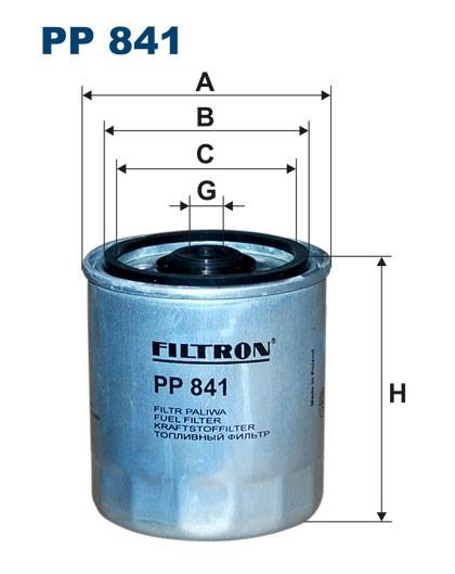 Filtr paliwa PP 841 [PP841] FILTRON