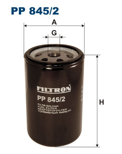 Filtr paliwa PP 845/2 [PP8452] FILTRON