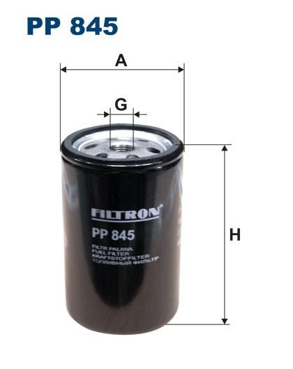 Filtr paliwa PP 845 [PP845] FILTRON