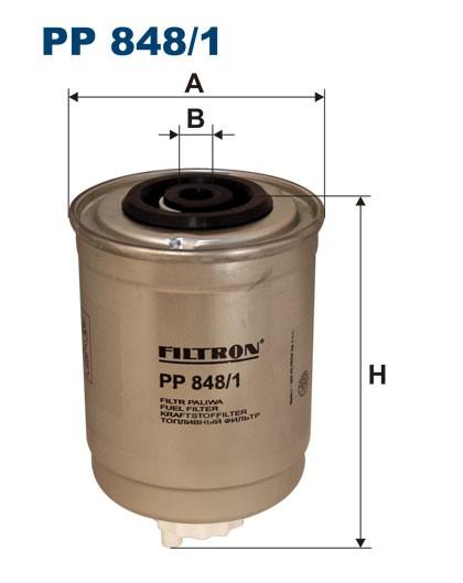 Filtr paliwa PP 848/1 [PP8481] FILTRON