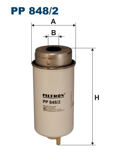 Filtr paliwa PP 848/2 [PP8482] FILTRON