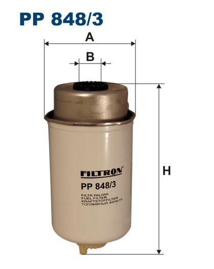 Filtr paliwa PP 848/3 [PP8483] FILTRON