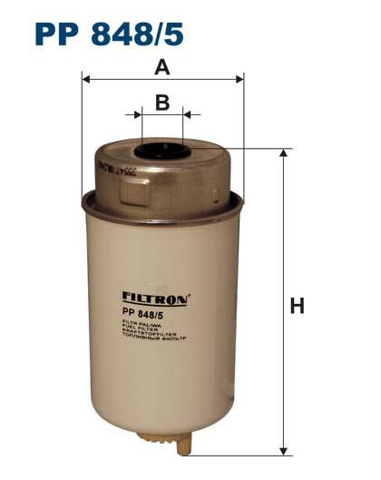 Filtr paliwa PP 848/5 [PP8485] FILTRON