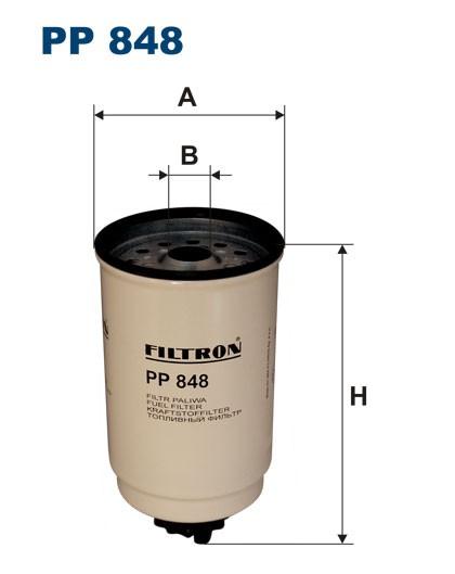 Filtr paliwa PP 848 [PP848] FILTRON