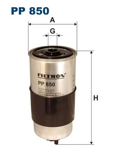 Filtr paliwa PP 850 [PP850] FILTRON