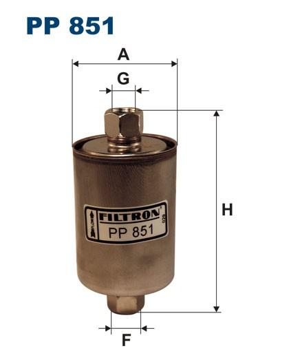 Filtr paliwa PP 851 [PP851] FILTRON