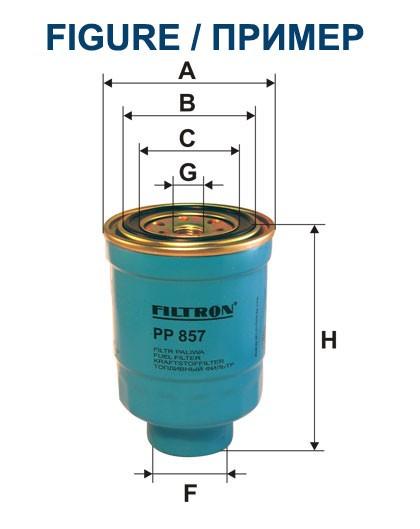 Filtr paliwa PP 852 [PP852] FILTRON