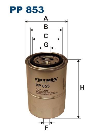 Filtr paliwa PP 853 [PP853] FILTRON