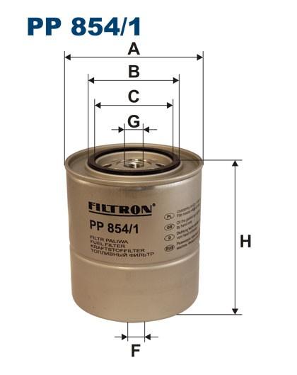 Filtr paliwa PP 854/1 [PP8541] FILTRON