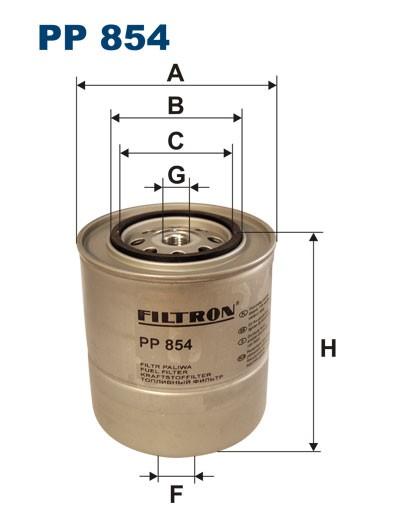 Filtr paliwa PP 854 [PP854] FILTRON