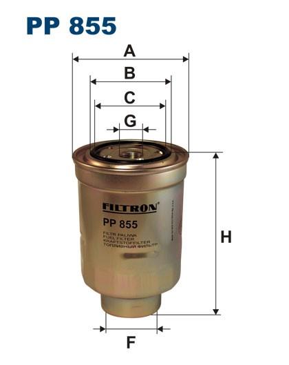 Filtr paliwa PP 855 [PP855] FILTRON