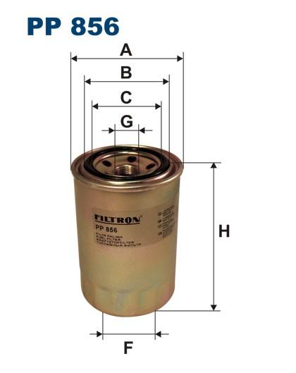 Filtr paliwa PP 856 [PP856] FILTRON
