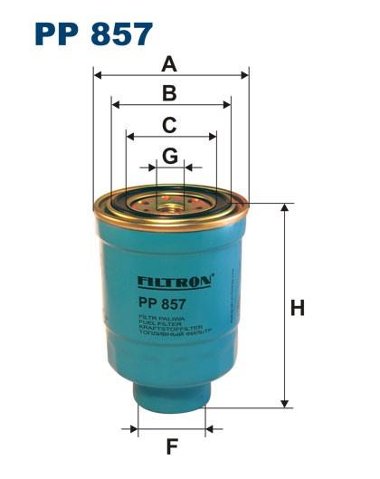 Filtr paliwa PP 857 [PP857] FILTRON