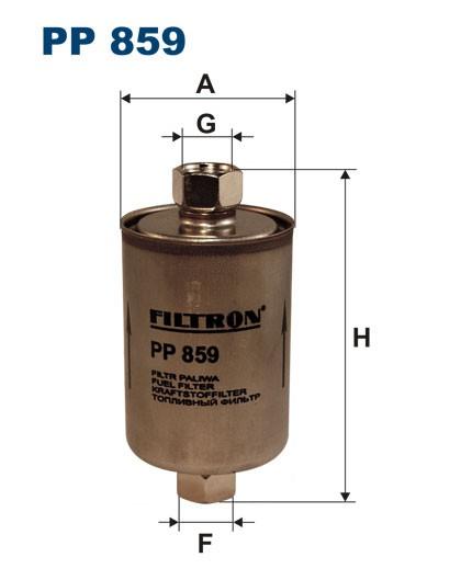 Filtr paliwa PP 859 [PP859] FILTRON