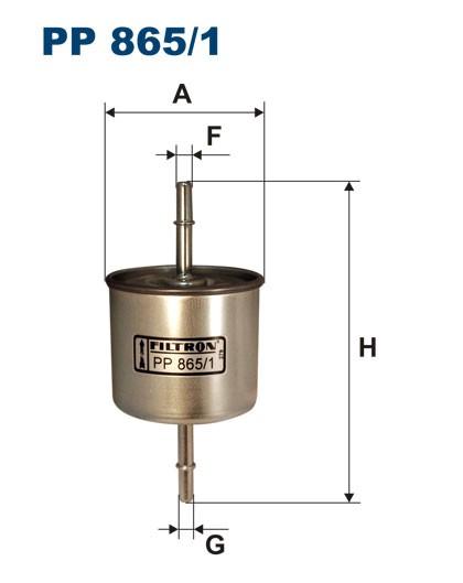 Filtr paliwa PP 865/1 [PP8651] FILTRON