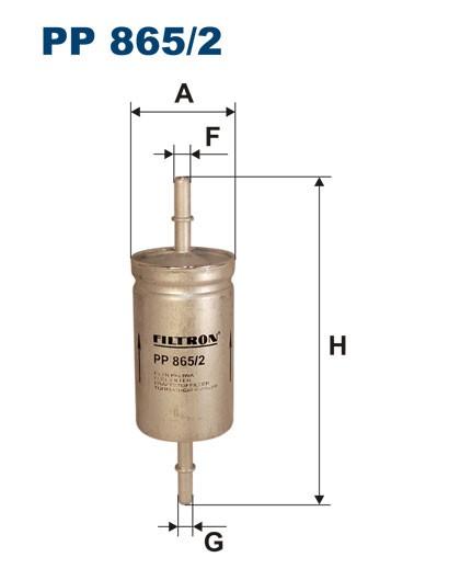 Filtr paliwa PP 865/2 [PP8652] FILTRON