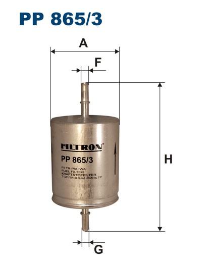 Filtr paliwa PP 865/3 [PP8653] FILTRON