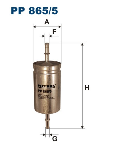 Filtr paliwa PP 865/5 [PP8655] FILTRON
