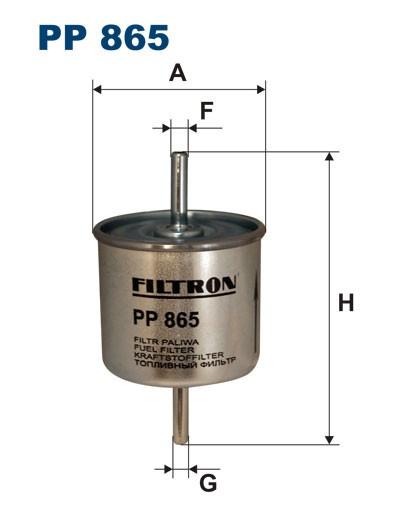 Filtr paliwa PP 865 [PP865] FILTRON