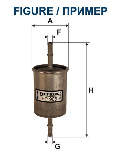 Filtr paliwa PP 866/1 [PP8661] FILTRON