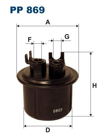 Filtr paliwa PP 869 [PP869] FILTRON