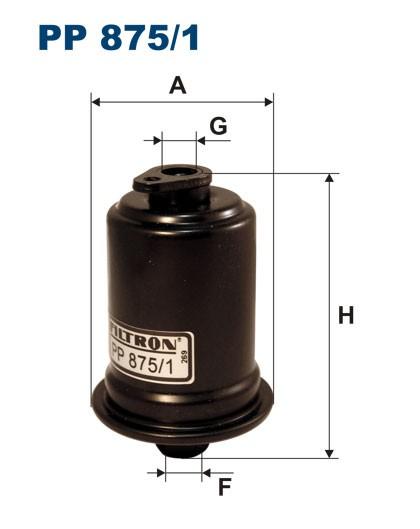 Filtr paliwa PP 875/1 [PP8751] FILTRON