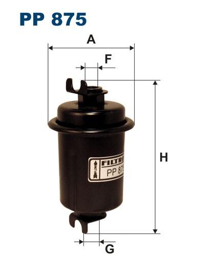 Filtr paliwa PP 875 [PP875] FILTRON