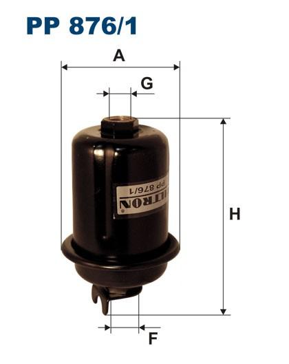 Filtr paliwa PP 876/1 [PP8761] FILTRON