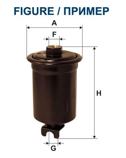 Filtr paliwa PP 876/2 [PP8762] FILTRON