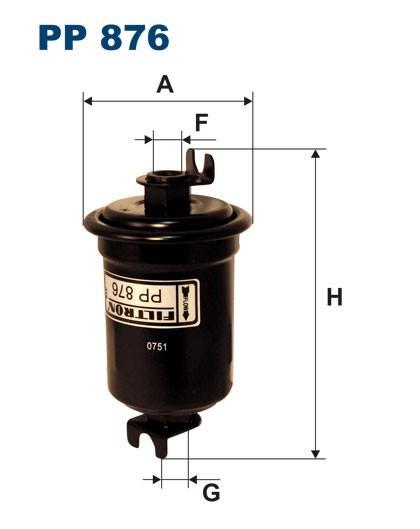 Filtr paliwa PP 876 [PP876] FILTRON