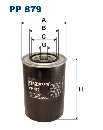 Filtr paliwa PP 879 [PP879] FILTRON