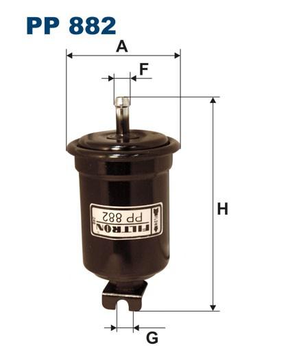 Filtr paliwa PP 882 [PP882] FILTRON
