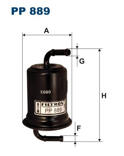 Filtr paliwa PP 889 [PP889] FILTRON