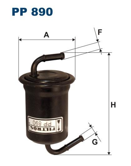 Filtr paliwa PP 890 [PP890] FILTRON